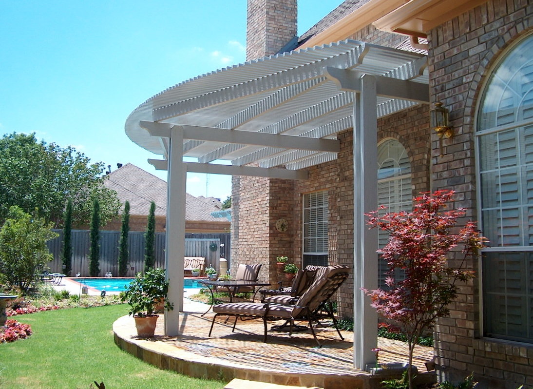 solid wood patio covers. Arbor Little Elm Solid Wood Patio Covers D